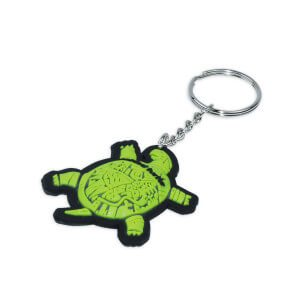 bulk rubber key rings with your logo 141