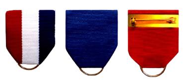 C17-1 custom made medallion ribbon design option.
