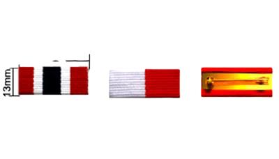 C17-6 custom made medallion ribbon design option.