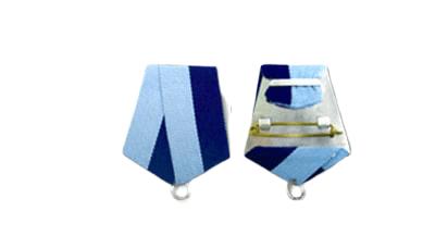 C17-7 custom made medallion ribbon design option.