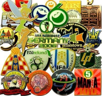 Custom Label Pins & Name Badges
