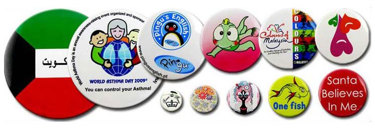 customised button badges for sale