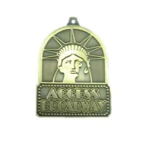 zinc_alloy_with_antique_brass for promotion, logo and events bulk