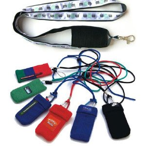 cotton mobile phone lanyard, ipon lanyard, cotton mobile phone holder, polyester mobile phone holder