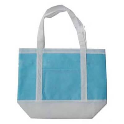 Printed non woven bag in 80g non woven material.