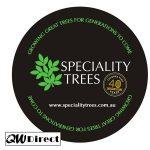 nursery_tree_company_pvc_drink_coasters